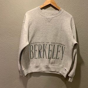 Vintage 90 Cal Berkeley University Sweater Russell